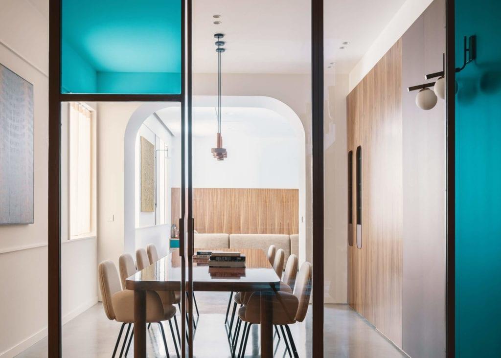 szkło-inspiracje-jadalnia-stół-krzesła