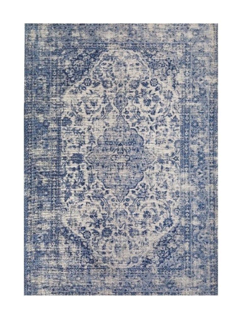 pomysły-na-wnętrze-perski-dywan-niebieski