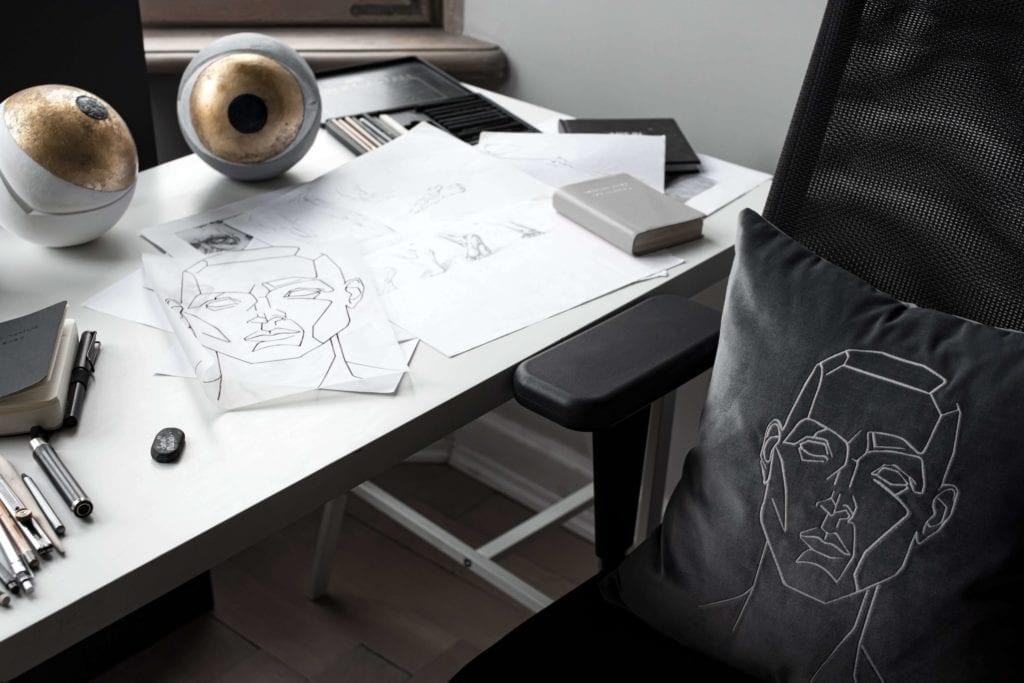 obraz-poduszka-inspiracje-szkic-rysunek-sztuka