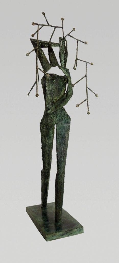 Bakalarz-Adam-rzeźba-inspiracje-brąz-galeria-sztuki