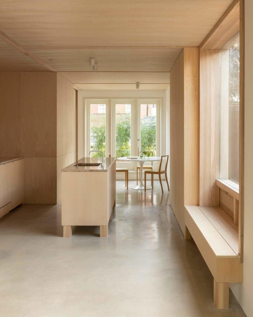minimalizm-we-wnętrzu-drewno-inspiracje-kuchnia