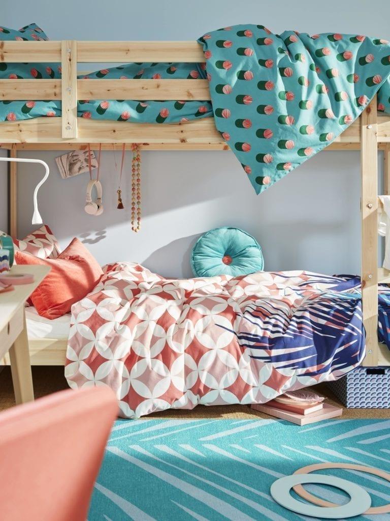 pokój-dziecka-nowy-rok-szkolny-wnętrze-łóżko-inspiracje-dekoracje