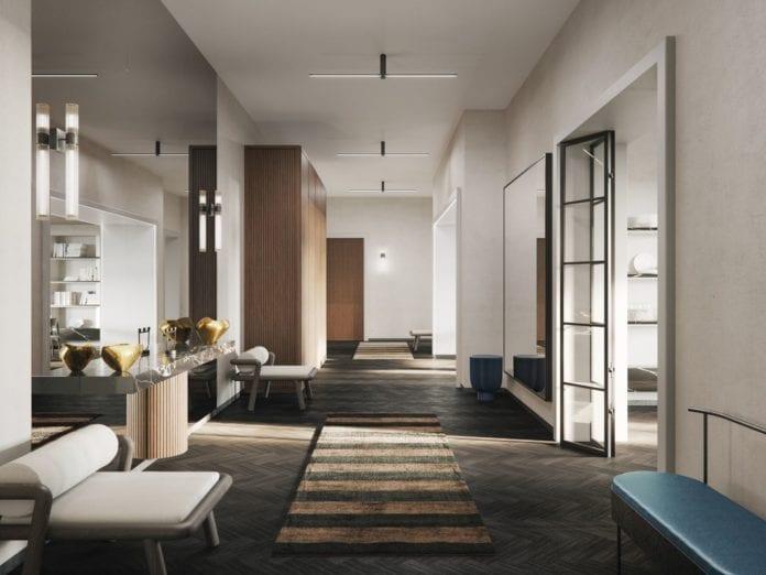 hiszpańskie-wnętrze-inspiracje-przedpokój-wnętrze-dywan-fotel