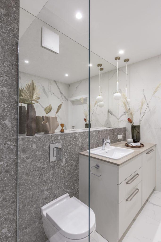 idealny prysznic kabina prysznicowa szkło timeless