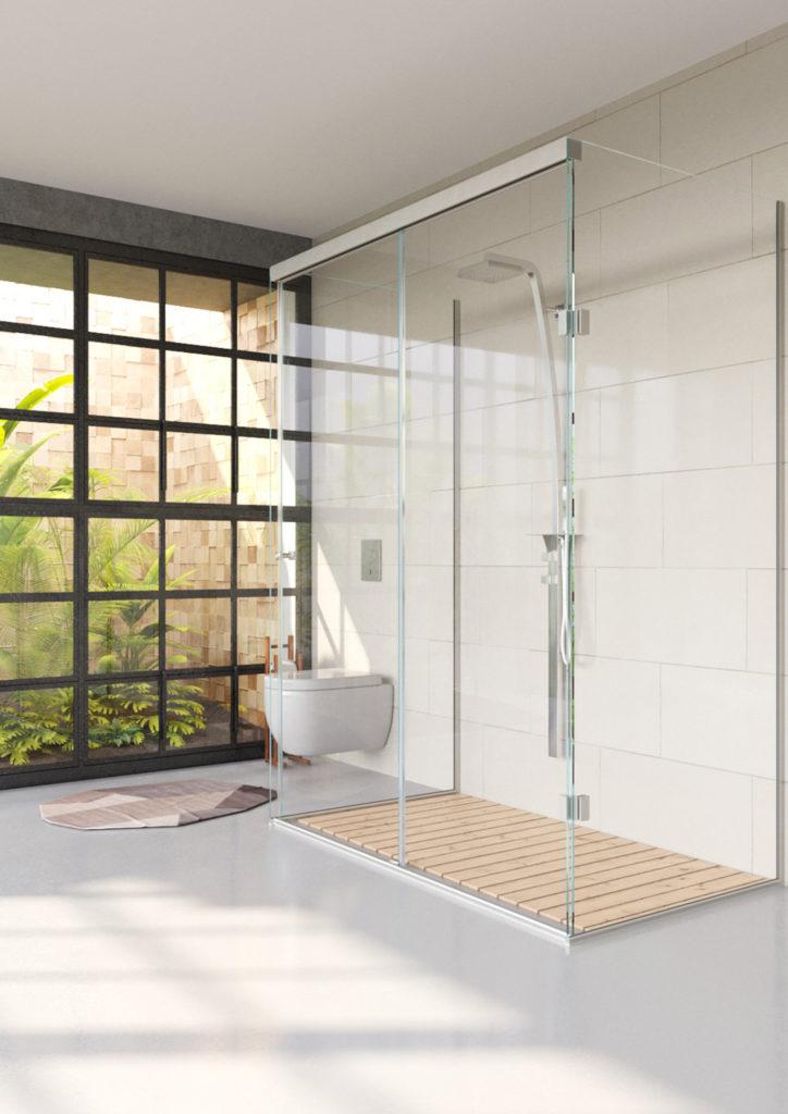 idealny prysznic kabina prysznicowa zamknięta