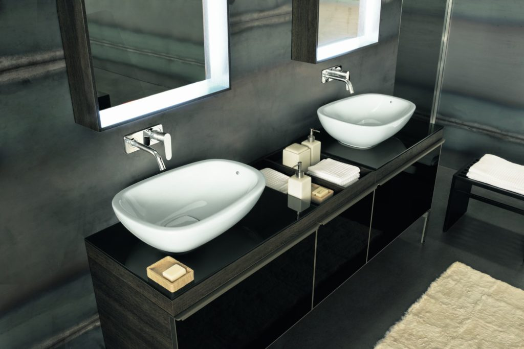 Antonio Citterio umywalki Geberit ceramika łazienkowa projekt łazienki