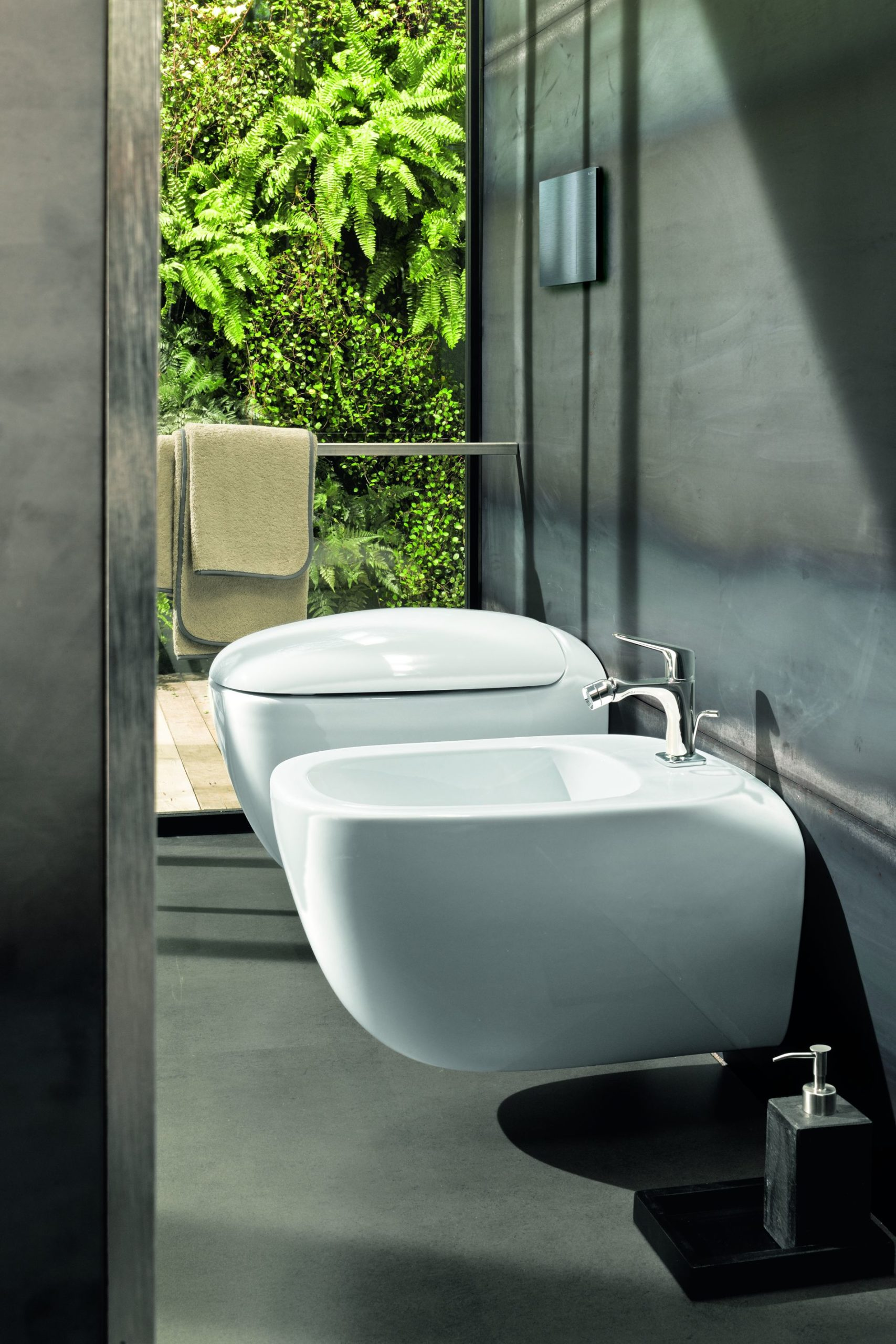 Antonio Citterio miska bidet Geberit ceramika łazienkowa projekt łazienki