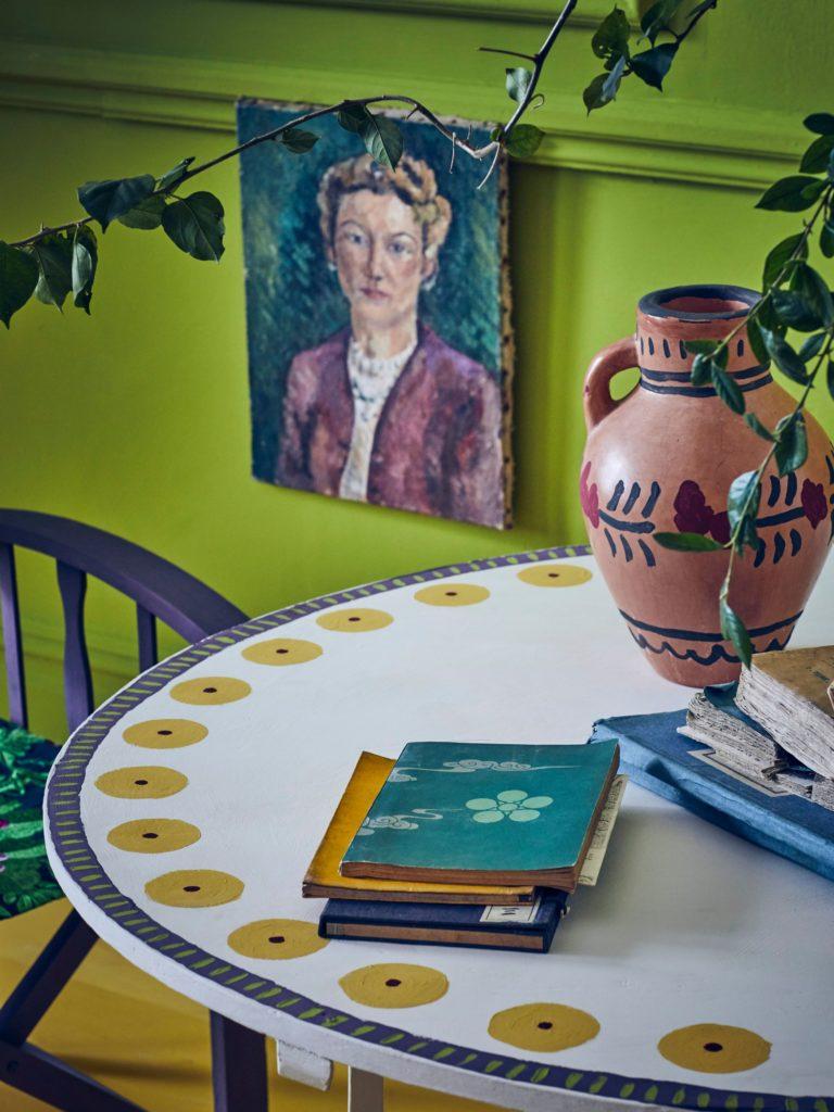 kolorowy dom farby do wnętrz dekoracje aranżacje