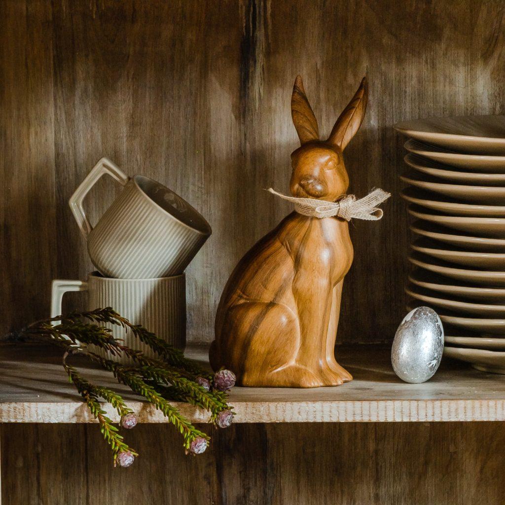 dekoracje wielkanocne jajka króliczki
