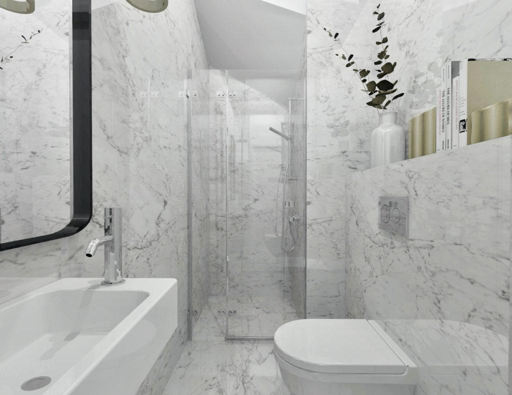 wymarzona łazienka gościnna