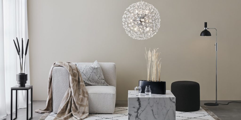 Markslöjd Home piękne tekstylia, koce, poduchy, wazony