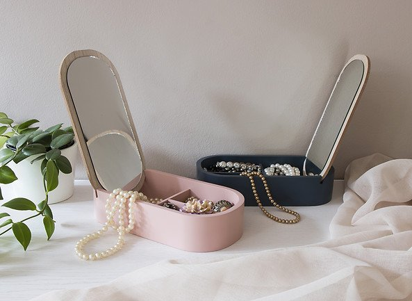 Dekoracje do domu - ozdobne pudełka na drobiazgi i biżuterię