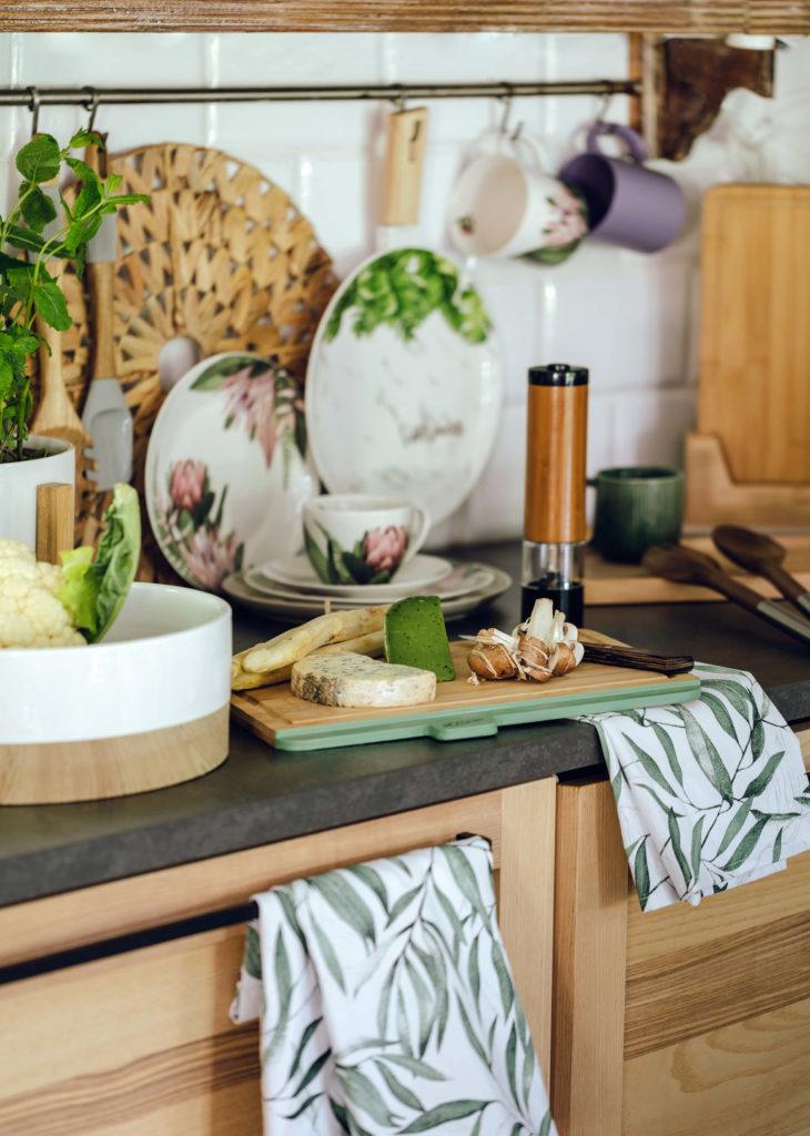 Wnętrza w stylu slow dla miłośników natury- kuchnia
